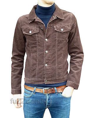 Anderson - Denim Corduroy Short Jacket Brown Cord