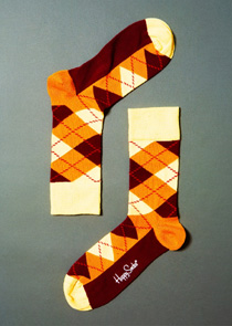 Argyle 02 - HAPPY SOCKS (ar10 - 002)