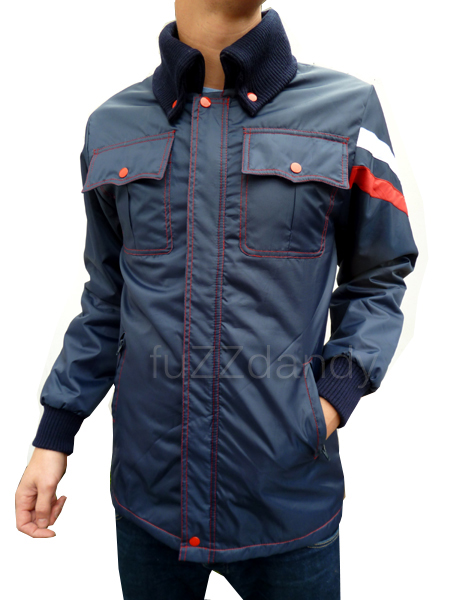 Guthrie - Navy Racing Jacket